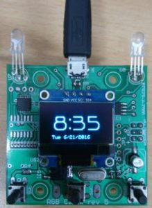 Oled programmable timer