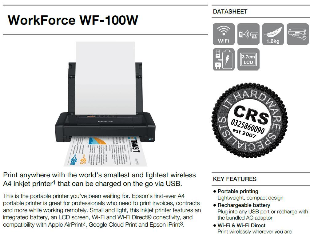 mobile inkjet printers